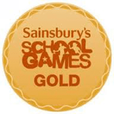 Sainsburys School games gold
